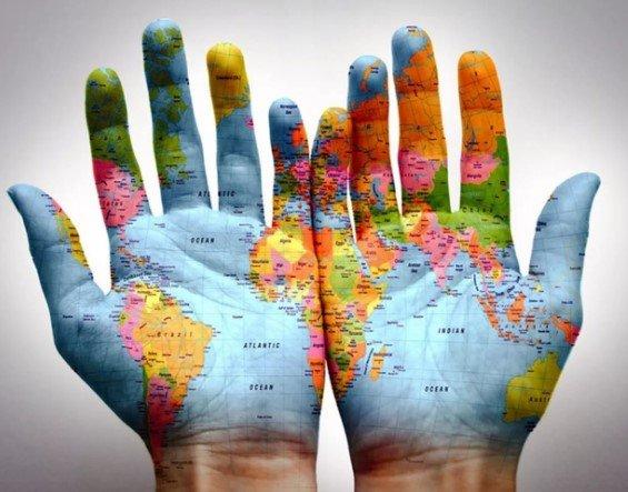 Руки мира картинка