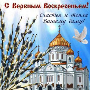 день вербного воскресенья картинка