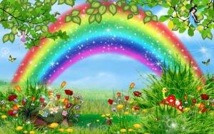 Картинка детская радуга