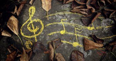 Осень скрипичный ключ