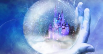Волшебный новогодний шар