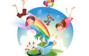 Дети и радуга