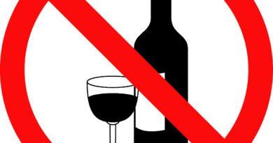 Знак алкоголь нет