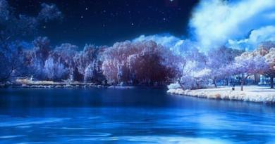 Зима у воды