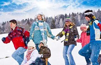 Сценарий на день зимних видов спорта на улицу