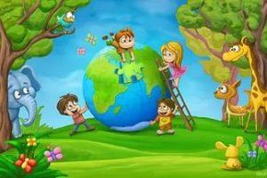 Дети и экология картинка