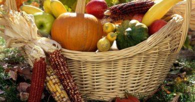 Овощи в корзине картинка