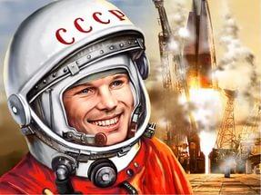 Рисунок Гагарин ЮА