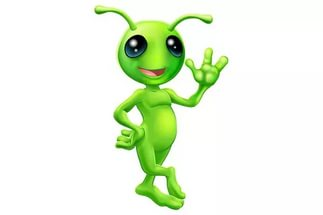 Зеленый инопланетянин картинка
