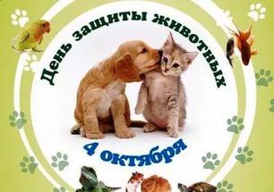 День защиты животных плакат