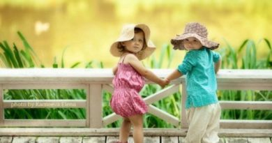 дети лето дружба