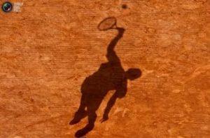Тень теннисиста