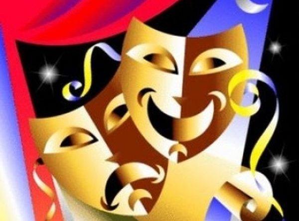золотые маски театральные