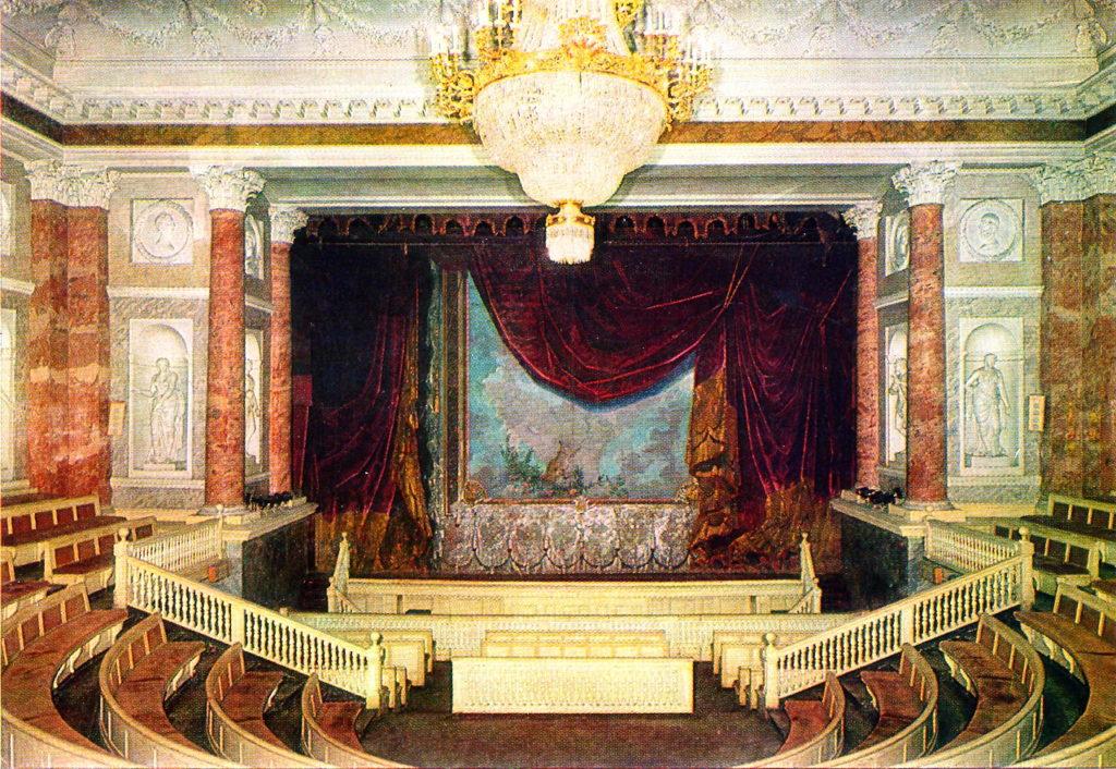 19 век театры
