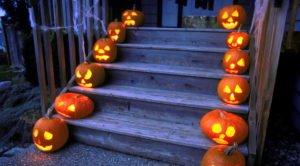 Лестница на хеллоуин