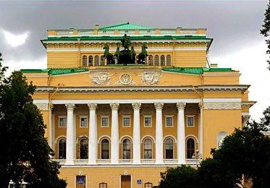 Первый русский театр 1756г