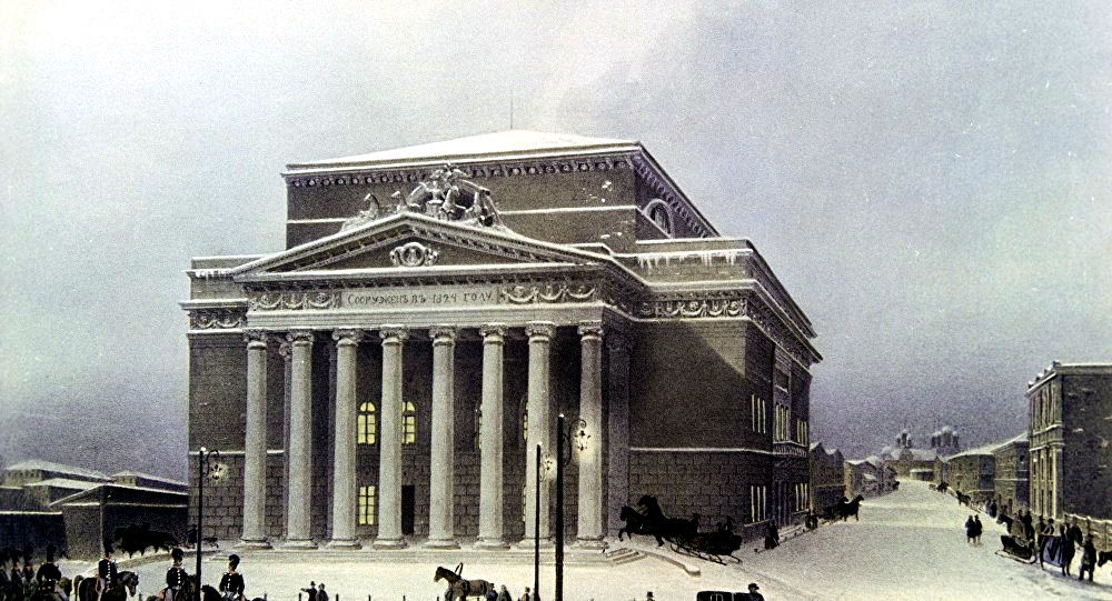 большой петровский театр 1825