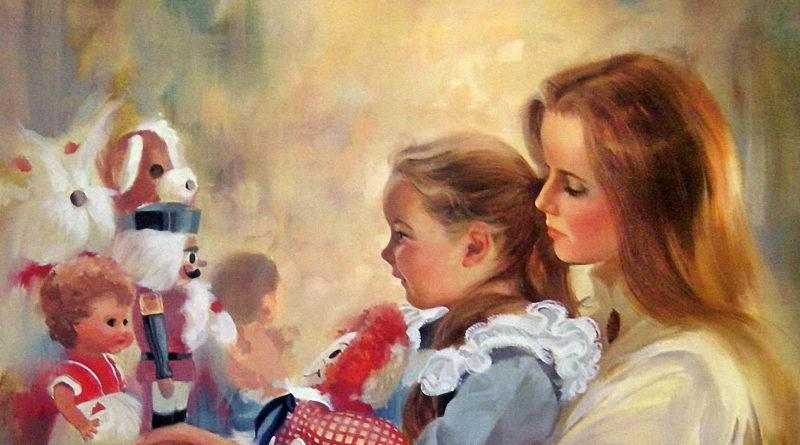Мама с ребенком картина маслом.jpg