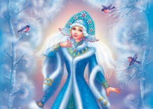 Снегурочка рисунок