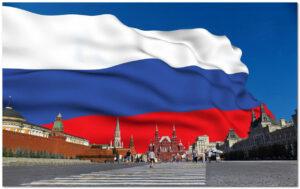 флаг на красной площади