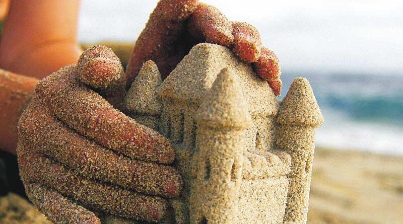 песочный замок картинки