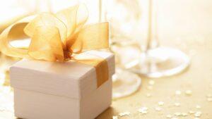 подарок на свадьбу коробка