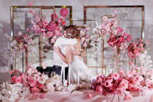 Розовая свадьба 10 лет