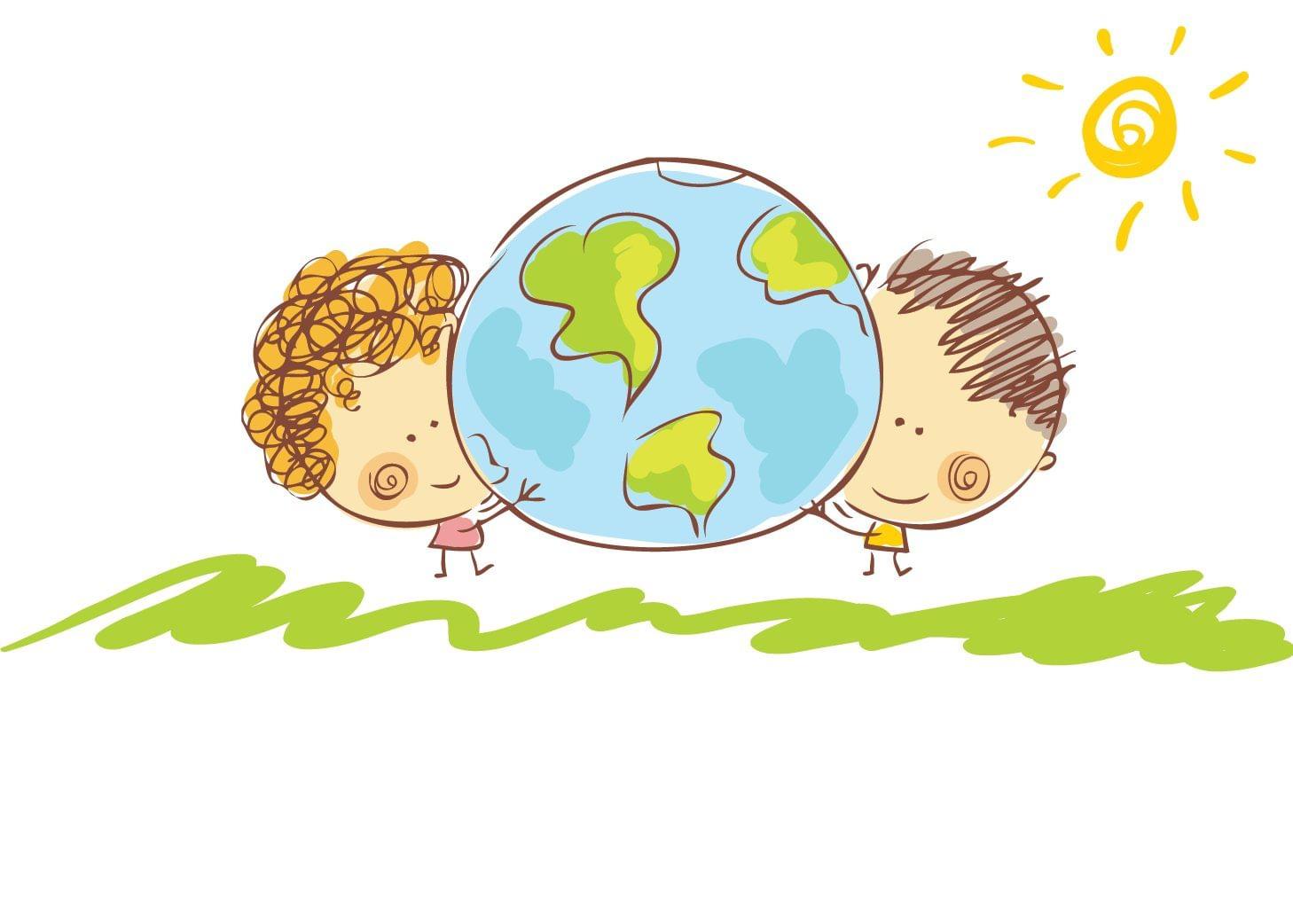 день земли рисунок