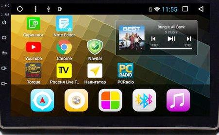 головное устройство с Android Toyota